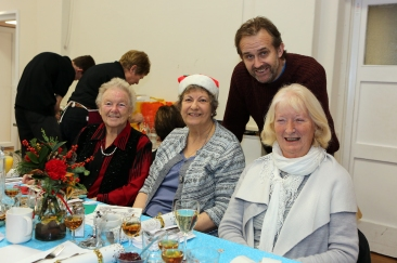 The Welbeloved Club Christmas Lunch, at the Memorial Hall, The Forebury, Sawbridgeworth.